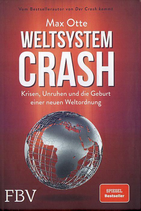 """Umschlagseite """"Weltsystemcrash"""""""